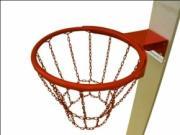 Кольцо баскетбольное с металлической сеткой