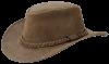 Стильная кожаная шляпа JahtiJakt.