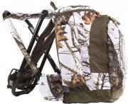 Рюкзак со  стулом Retki CLASSIC snow camo 40л