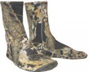 Флисовые носки удлиненные р-р 25