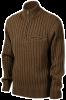 Свитер JahtiJakt Knitted sweater forest, коричневый