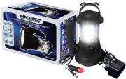 Аккумуляторный прожектор и кемпинговый фонарь FOCUSray 841