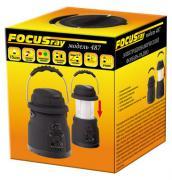 Самозарядный фонарь с радио FOCUSray 487