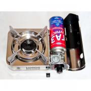 Компактная газовая плита в кейсе Lotos Premium